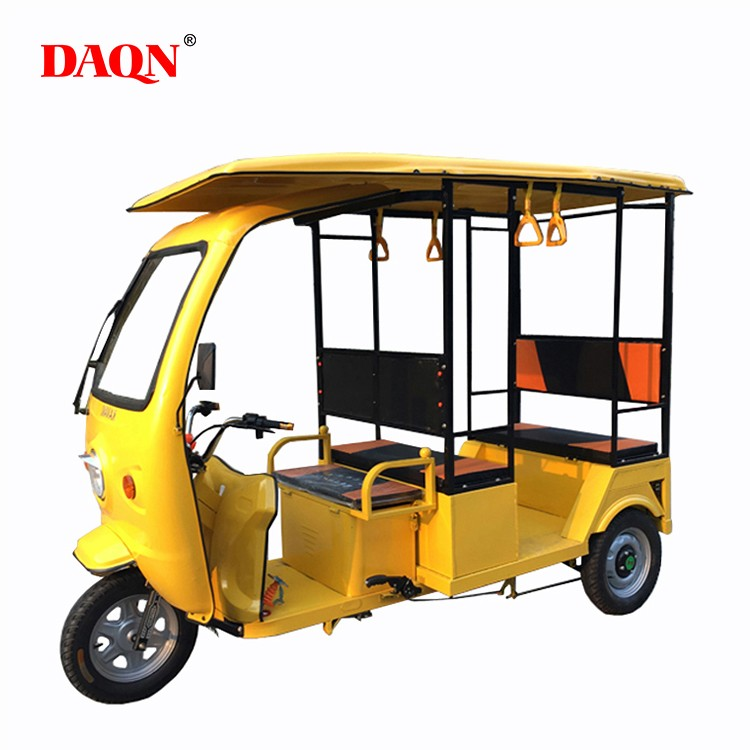 Solar passenger electric tricycle