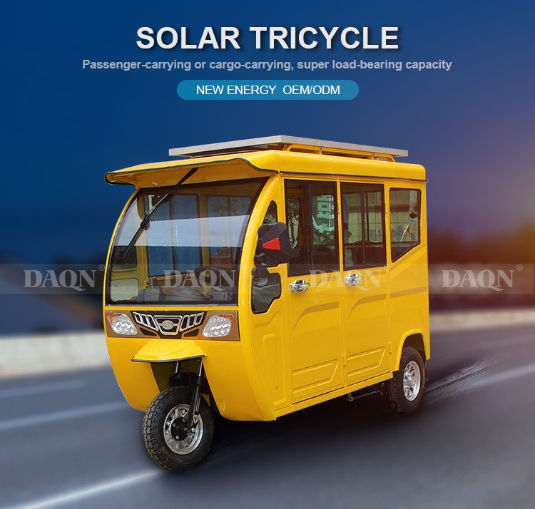 solar tricycle passenger