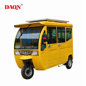 New solar electric tricycle / solar electric tricycle taxi