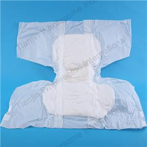 Diaper For Old People Bulk Adult Diaper With Pe Back Sheet