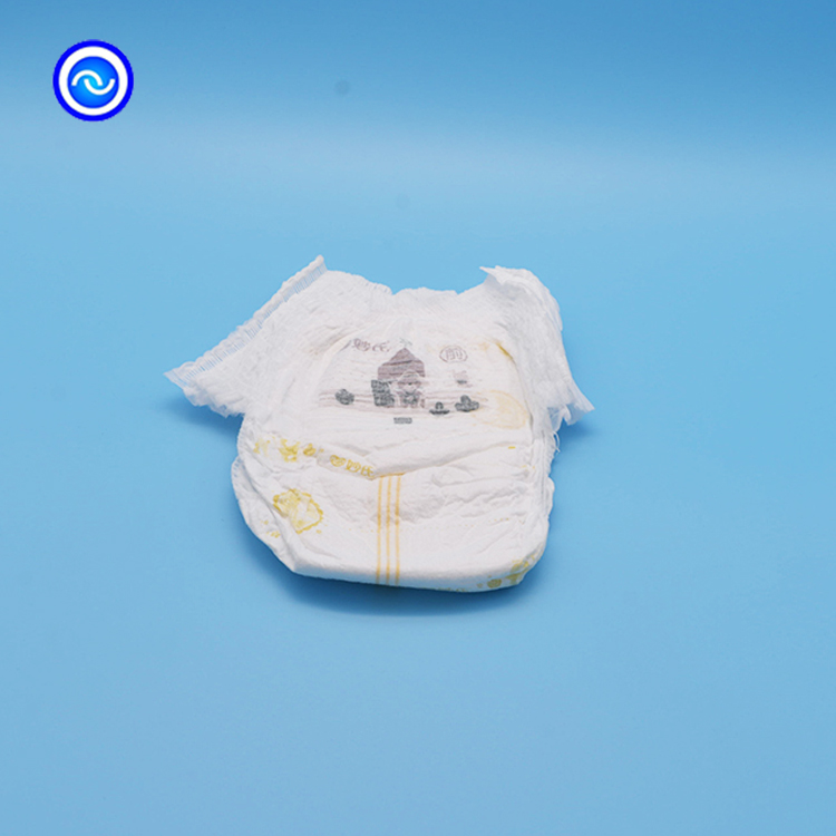Custom soft print baby pulls up the diaper