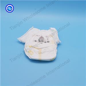 Ropa interior desechable del entrenamiento de los pantalones del pañal del bebé