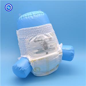อีโค่ การดูแลฝ้ายนุ่ม กางเกงในผ้าอ้อมเด็กอ่อนพร้อมขมิ้นและเลกคัฟฟ์