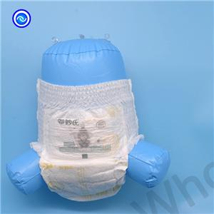 Skin Friendly Snug Fit Baby Pull Up Diaper With 3D Leakguard
