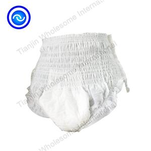 High Absorbency Dry Surface Soft Plastic Adult Pants Diaper