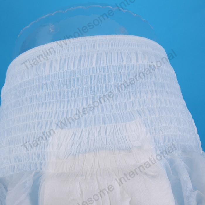 Pulling adult diapers at one time, pulling adult diaper panties manufacturer, disposable pull panty factory