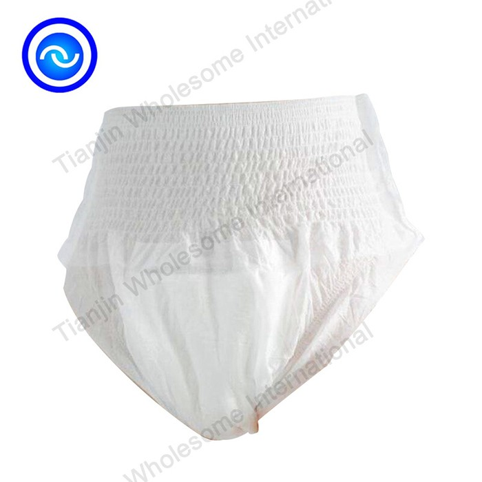 High Absorbency OEM Ecomomic Adult Pull Up Diaper Pants Manufacturers, High Absorbency OEM Ecomomic Adult Pull Up Diaper Pants Factory, Supply High Absorbency OEM Ecomomic Adult Pull Up Diaper Pants