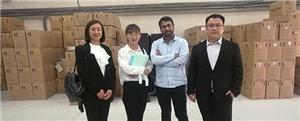 दुबई के ग्राहकों का आना