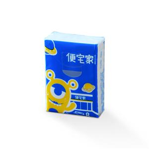 Mini Pack Advertising Pocket Tissue