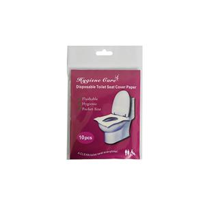 1/16 Fold Health Care Flushable Paper Toilet Seat Covers