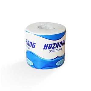 2-lagiges, 300 Blatt weiches, weißes Toilettenpapier