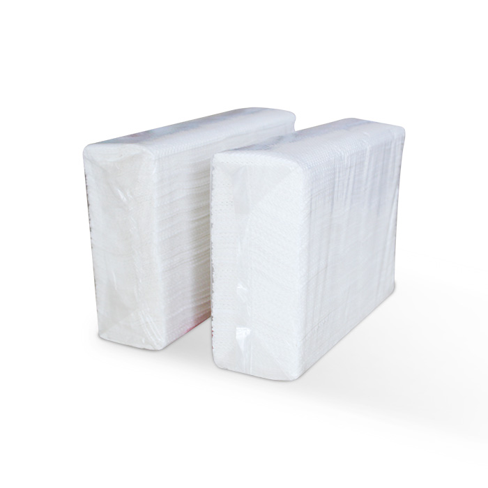 1 Ply White Premium Emboss Virgin Hand Paper Towel