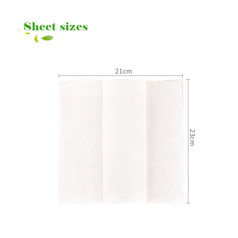 wood hand towel paper