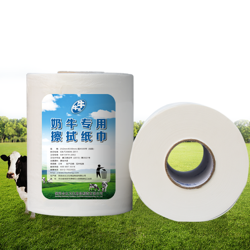 Private Label Cow Teat Wipes for Udder Care and Sanitizing