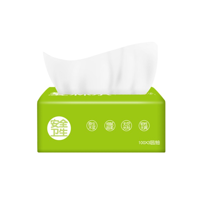 Custom China Professional Ultra Soft 3-Ply Facial Tissue with 300 sheets, Professional Ultra Soft 3-Ply Facial Tissue with 300 sheets Factory, Professional Ultra Soft 3-Ply Facial Tissue with 300 sheets OEM