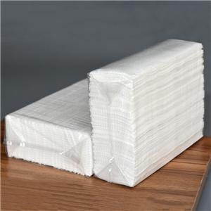 Professionelle Premium 1-lagige, geprägte N-Falz-Papierhandtücher der OEM-Serie