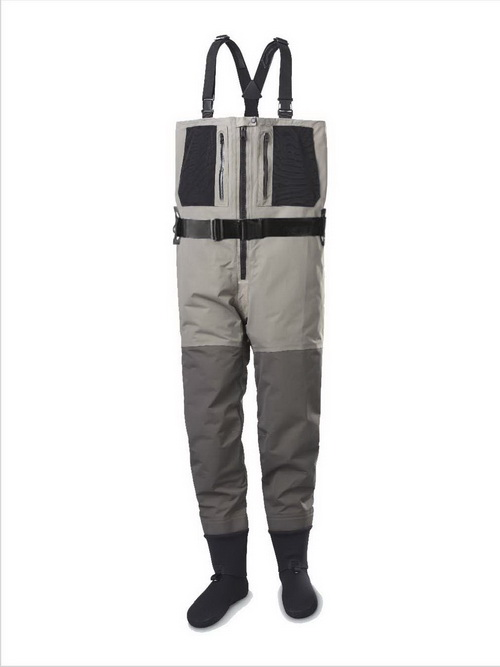 zippered chest waders