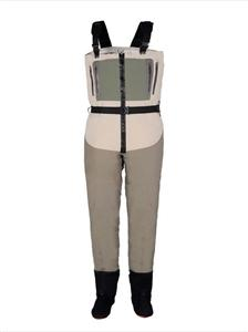Zippered Waterproof Fly Fishing Chest Waders