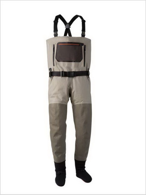 breathable stockingfoot chest waders