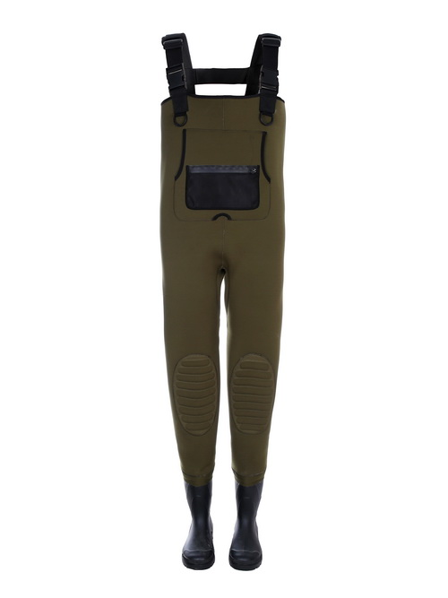 Industrial Neoprene Bootfoot Chest Waders