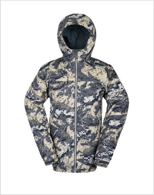 Waterproof Hunting Coat with Desolve Camo