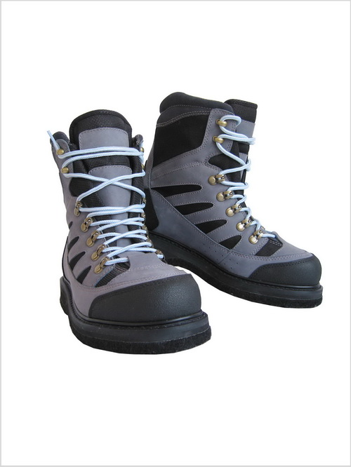 Nubuck Leather Wading Boots with Felt Sole