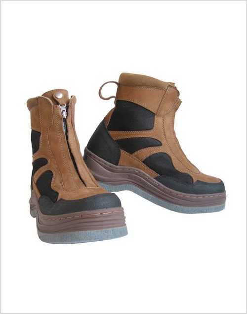 Zippered Wading Boots with Moulded Felt Sole