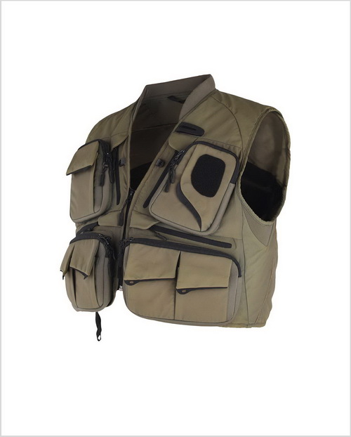 Professional Fly Fishing Vest with 21 Pockets