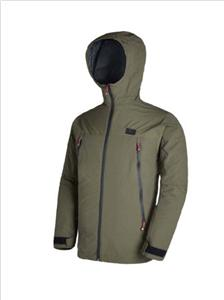 Lined Waterproof and Breathable Rain Jacket