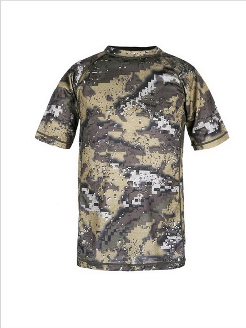 Summer T Shirt with Desolve Camo