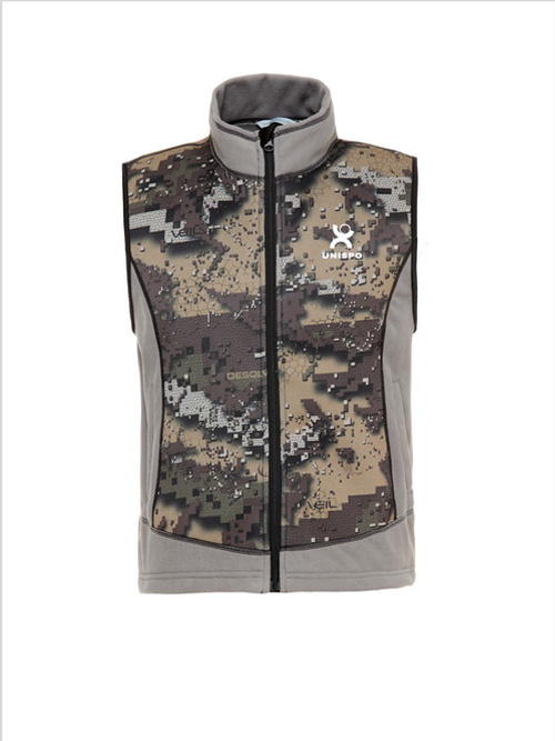 Neoprene Warm Vest with Desolve Camo