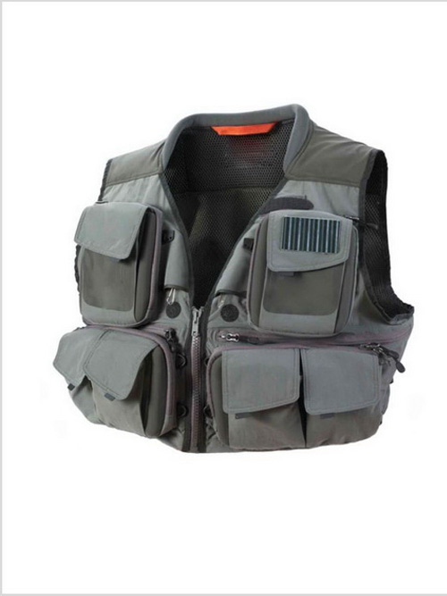 Functional Fishing Vest with 16 Pockets