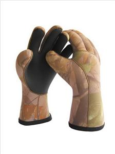 Neoprene Hunting Gloves with Camouflage