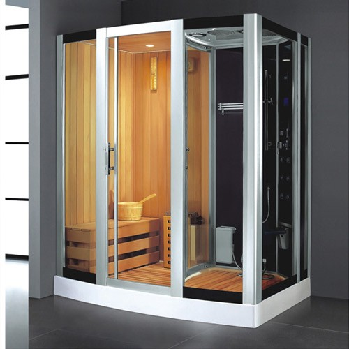 Sauna Dry And Wet Steam Room
