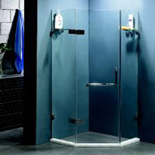 Tempered Glass Screen Shower Door