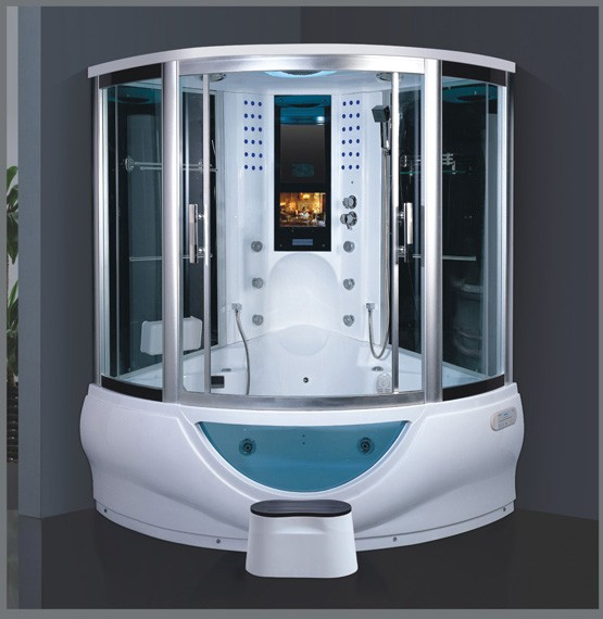 Tempered Glass Steam Room