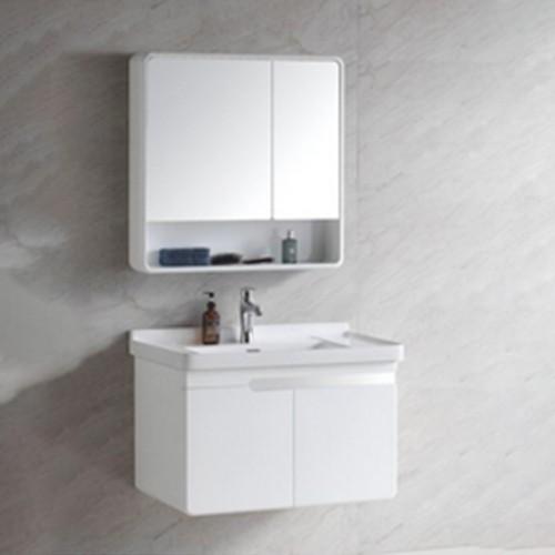 Modern PVC material bathroom Cabinet