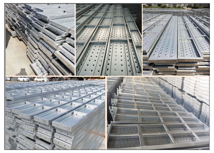 scaffolding steel decks
