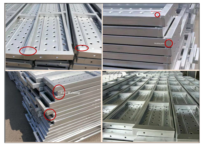 galvanized steel decks
