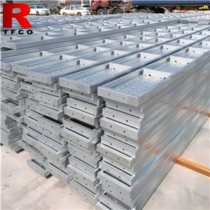 Scaffolding Galvanized Steel Decks