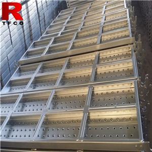 Galvanized Construction Metal Planks