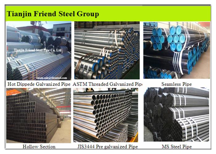 Custom Galvanized Steel Pipe