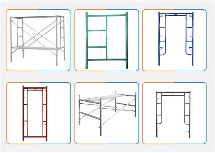 Scaffolding Steel Frames And Cross Brace