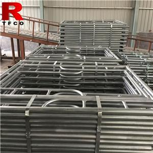 Galvanized Scaffolding Frames System