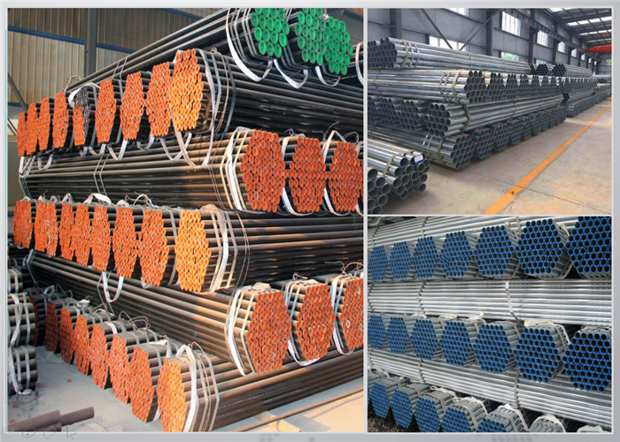 China Carbon Steel ERW Pipes