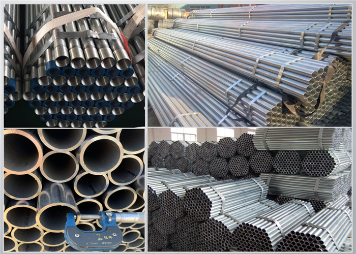 China Galvanized Coated Steel Tubing