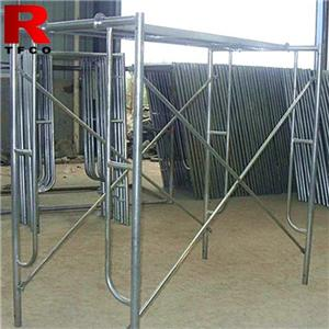 A Frame Scaffold System For Building Material