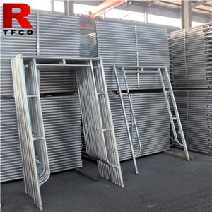 Galvanized Steel Frames And Cross Brace