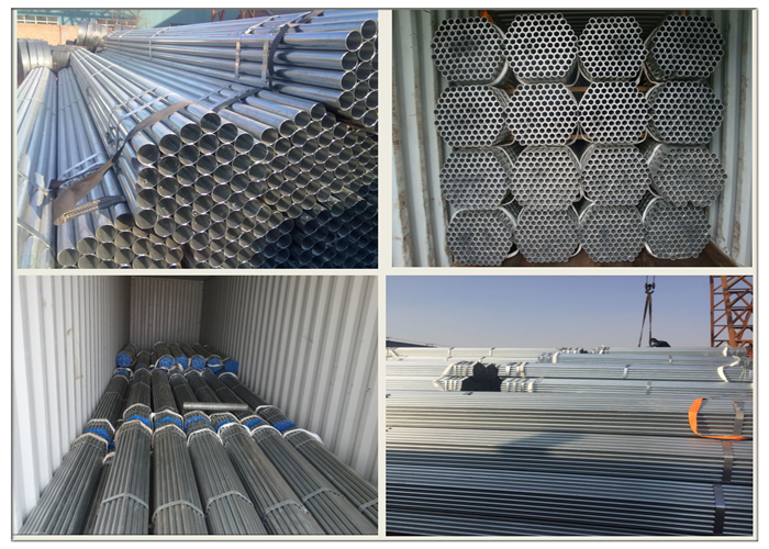 HDG Galvanized Scaffolding Tube Factory
