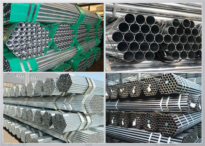 BS1387 Galvanized Scaffolding Tubes
